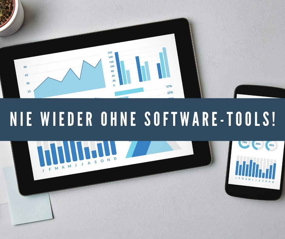 Nie wieder ohne Software tools