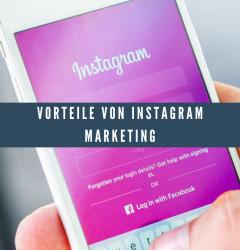Vorteile von Instagram Marketing